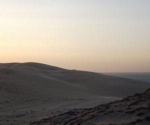 alone, boy, and desert image