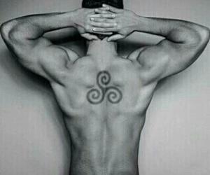 Hot, six pack, and tatoo image