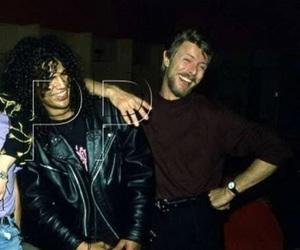 david bowie, Guns N Roses, and slash image
