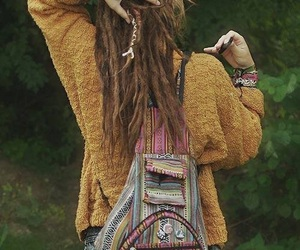 hippie, dreads, and rasta image