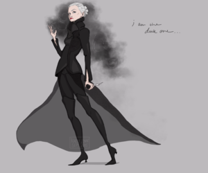 once upon a time and dark swan image