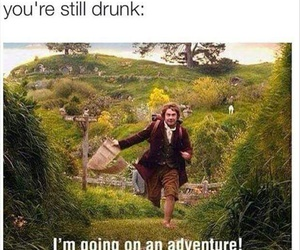drunk, adventure, and funny image