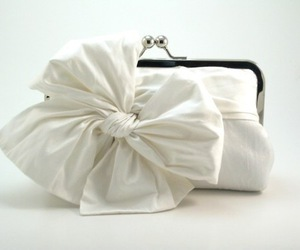 bag, white, and bow image