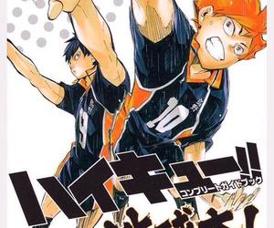 hinata, Kei, and manga image