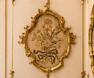 gilded, french influence, and home decor image