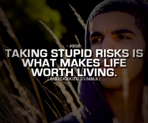 Drake, life, and risk image