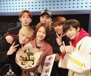 cute, monsta x, and love image