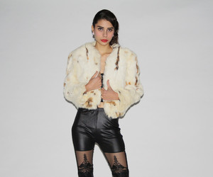 fur coat, rich girl, and glam image