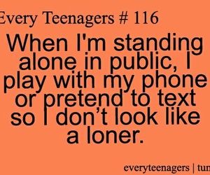 quote, loner, and funny image