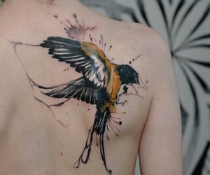art, colorful, and tattoo image
