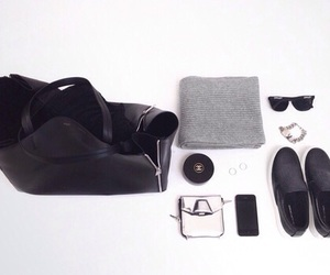 accessories, grey, and ray bans image
