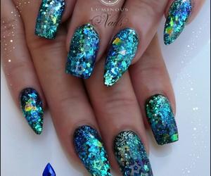art, nail art, and nail swag image
