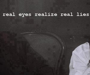 2pac, lies, and eyes image
