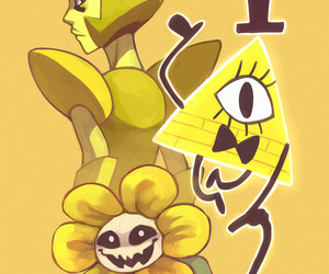 steven universe, yellow, and gravity falls image