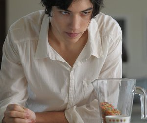 ezra miller and boy image