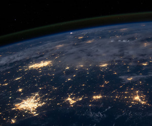 earth, nasa, and outer space image