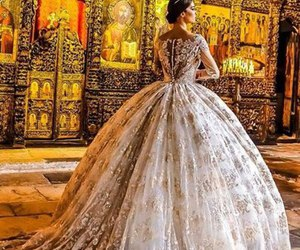 fashion, luxury, and wedding image