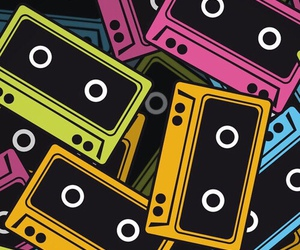 music, wallpaper, and cassette image