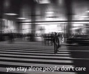 alone, people, and grunge image