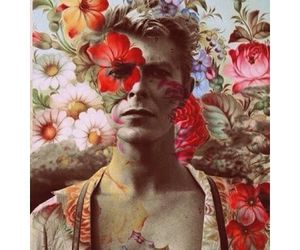 art, artist, and bowie image