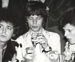 david bowie, mick jagger, and lou reed image