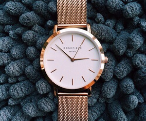 amsterdam, watch, and rosefield image