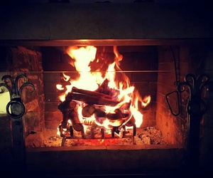 fire, home, and loveit image