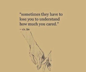 quotes, lose, and love image