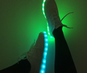 light, green, and shoes image