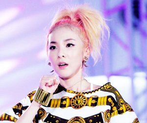 2ne1, kpop, and dara image