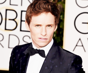 eddie redmayne and golden globes image