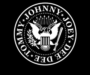 ramones, rock, and black and white image