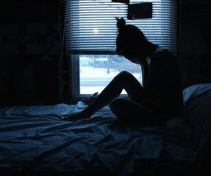 girl, sad, and grunge image