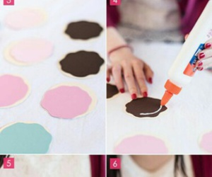 diy, donut, and girly image