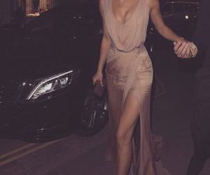 beige, gown, and money image