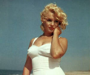 Marilyn Monroe and old hollywood image