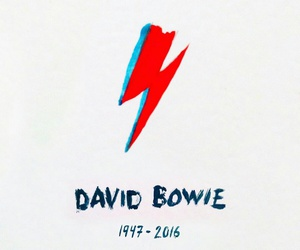 david bowie and rip image