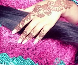 beautiful, hand, and indian image
