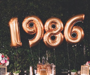 1986 and balloons image