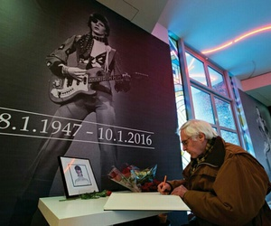 david bowie, music, and rip image