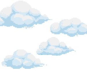 overlay and clouds image