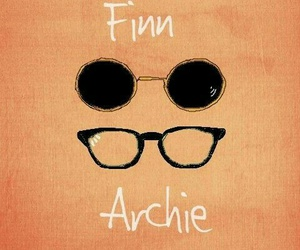 Archie, finn, and my mad fat diary image