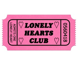 pink, lonely hearts club, and overlay image