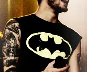 zayn malik, one direction, and batman image