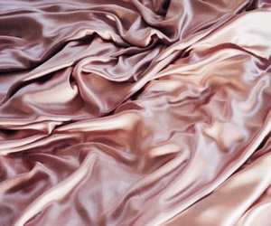pink, rose gold, and silk image