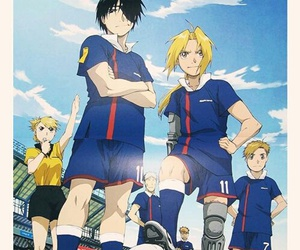fullmetal alchemist, anime, and football image