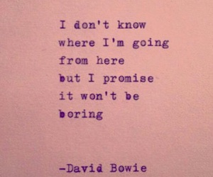 quote and david bowie image