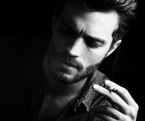 Jamie Dornan, Hot, and black and white image