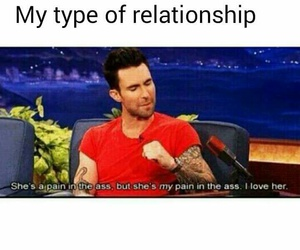 adam, funny, and love image