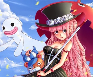 fan art, perona, and one piece image